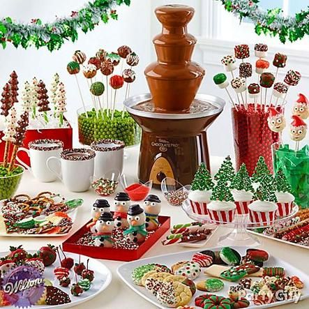 Give them visions of sugar *yums* with a fountain of ooey-gooey Candy Melts and dip-ready desserts!