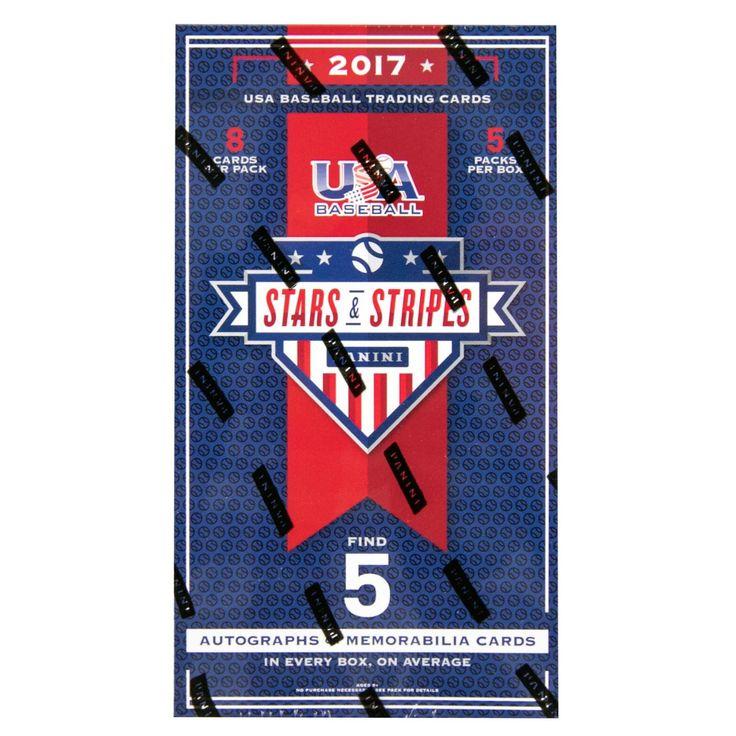 2017 USA Stars and Stripes Baseball Hobby Box
