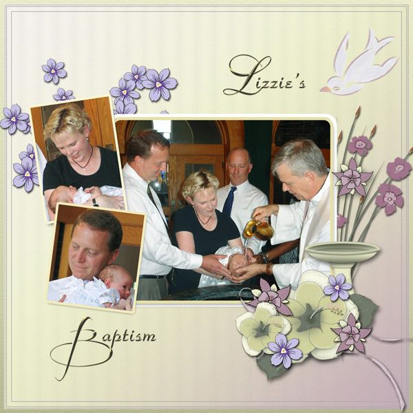 Baptism by Tbear. Kit: Gentle Colors by CL Graphics http://scrapbird.com/designers-c-73/a-c-c-73_514/country-livs-graphics-c-73_514_351/clgraphics-gentle-colors-page-kit-p-17916.html