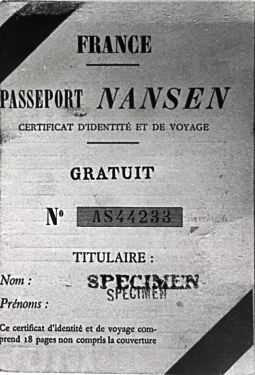 Nansenpassport - League of Nations - Wikipedia, the free encyclopedia