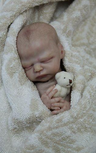 Mini Reborn Baby Quot Angel Quot Kit Zachy Marita Winters Mini