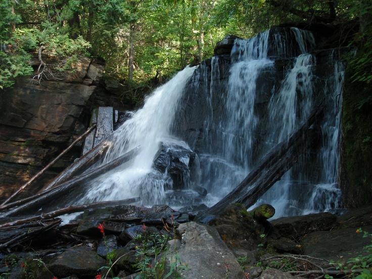 Waterfall near Achray, Algonquin Park