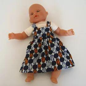 robe pour poupon 30cm