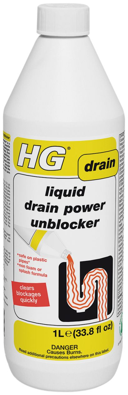 HG Problem Solvers - HG Liquid Drain Power Unblocker  33.81 fl oz  1 L, $7.89 (http://www.hgproblemsolvers.com/hg-liquid-drain-power-unblocker-33-81-fl-oz-1-l/)
