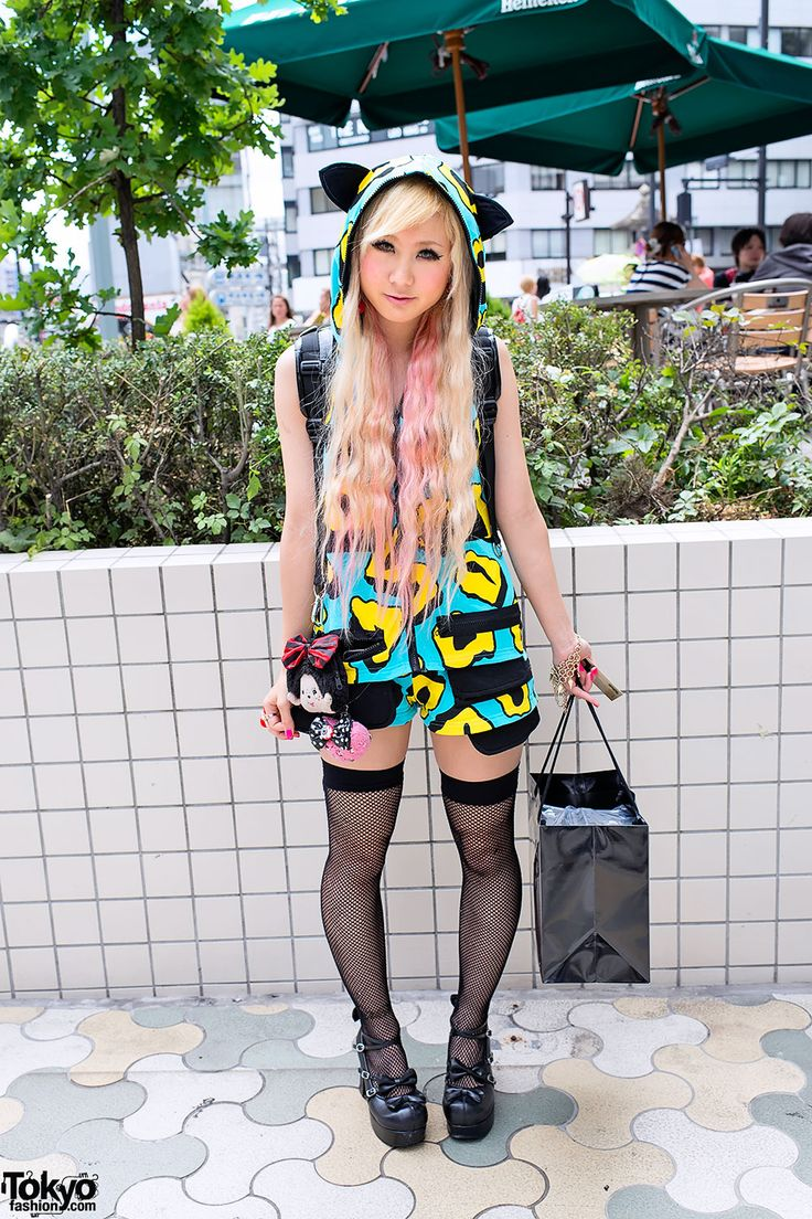 Japanese Girls Fashion 2014 The Harajuku clothing styles