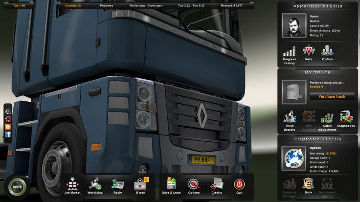 #Renault #Truck