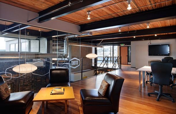 Офисные помещения фирмы Wint 09