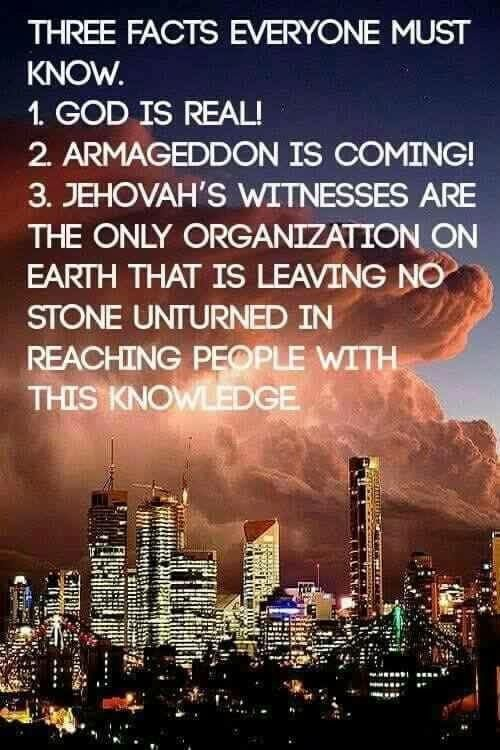 Matthew 24:3-14, 21,22.                      2 Timothy 3:1-5                     Revelation 16:14-21 19:11-21         The world's events prove that bible prophecy is now being fulfilled. Seek Jehovah God now while there is still time!