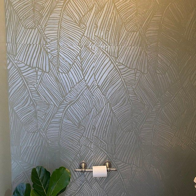 Mosaic Extra Large Modern Wall Stencil Large Pattern Stencil