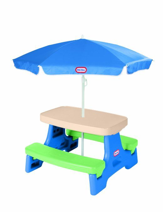 1000 Ideas About Picnic Table With Umbrella On Pinterest