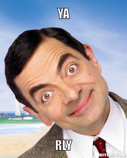 Funny Face Meme Generator : Mr bean memes meme generator diy lol rowan