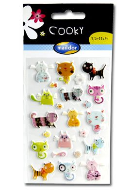 #Cooky stickers from Maildor