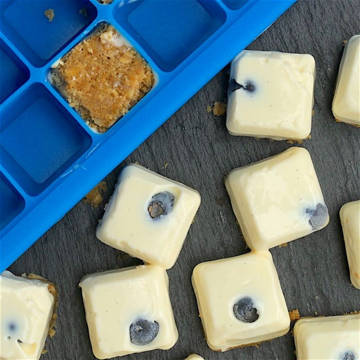 Ice Cube Cheesecakes - Twisted