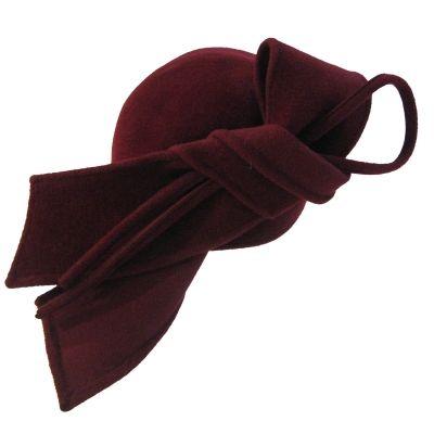 Céline Robert Hat- Ardia - Rouge turban