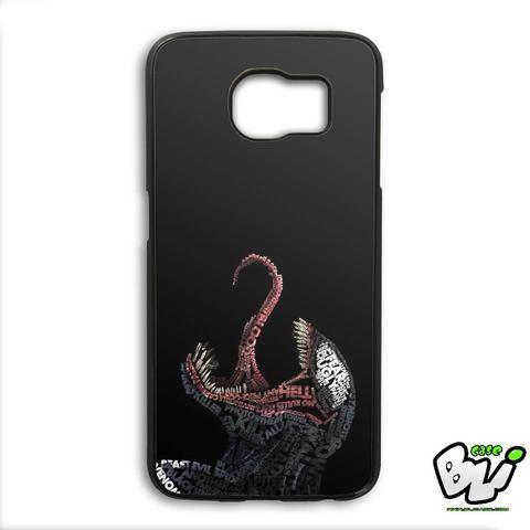 Venom Quotes Typhography Samsung Galaxy S6 Edge Case