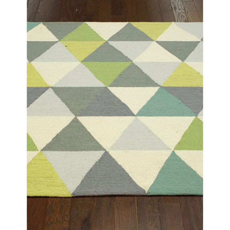 nuLOOM Hand-hooked Triangle Multi Rug (7'6 x 9'6) | Overstock.com Shopping - Great Deals on Nuloom 7x9 - 10x14 Rugs