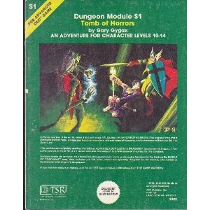 S1 Tomb of Horrors: Rpg Memories, Rpg History, Schools Rpgs
