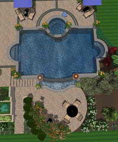 Swimming Pool Ideas - Infinity Edge Pool Design