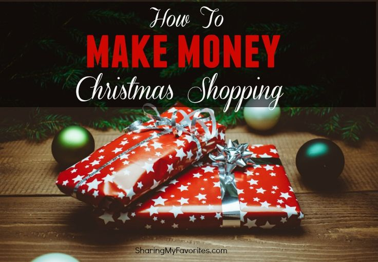 Want to know how I make money Christmas shopping online? You can earn a percentage back from most online purchases, too. It's free & easy to do!