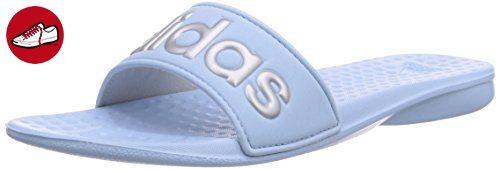 adidas Performance Carodas, Damen Dusch- & Badeschuhe, Blau (Clear Sky/Silver Met./Clear Sky), 44.5 (10 Damen UK) - Adidas schuhe (*Partner-Link)