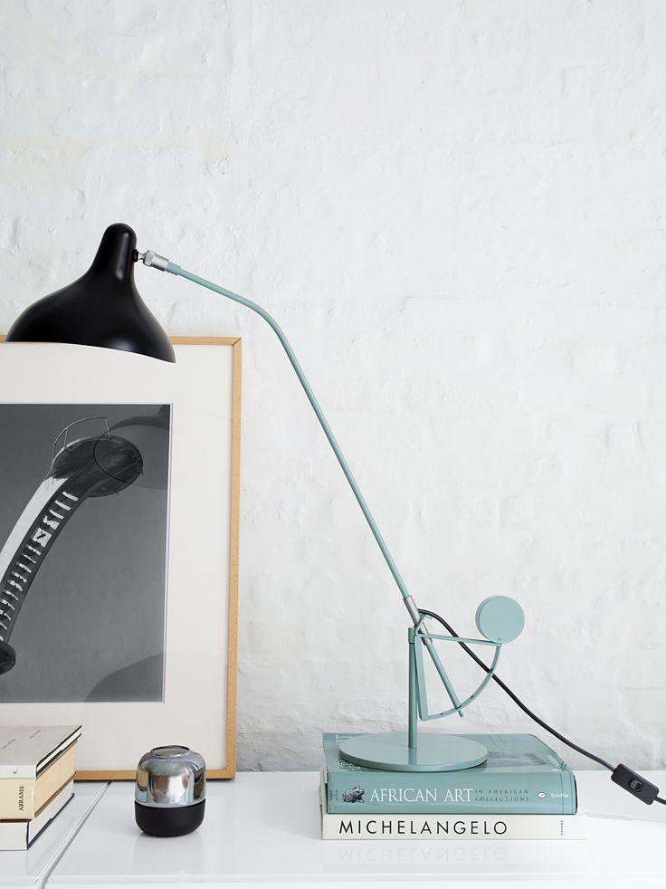 Seeking modern enlightenment? The sculptural Mantis Lamp