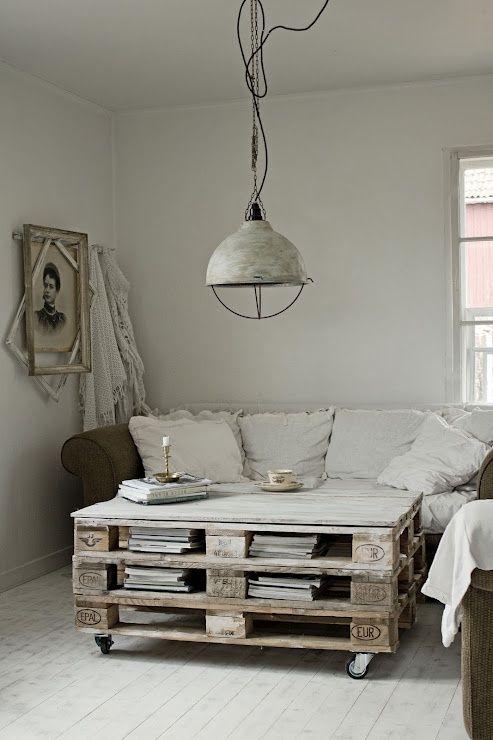 Des idées et inspirations pour fabriquer un meuble en palette : salon de jardin, tête de lit, table basse, lit, canapé, balançoire, étagère, jardinière,...