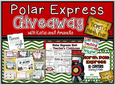 The Polar Express Giveaway {with Katie and Amanda}