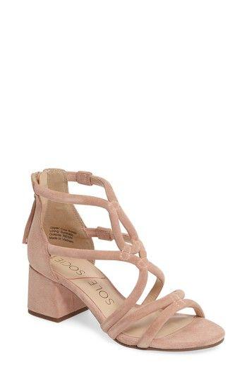 26b39118677 Free shipping and returns on Sole Society Jenina Block Heel Sandal (Women)  at Nordstrom.com. Curvy