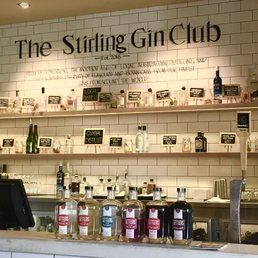 Stirling Hotel - Stirling South Australia, Australia. New Gin Club in the bar!
