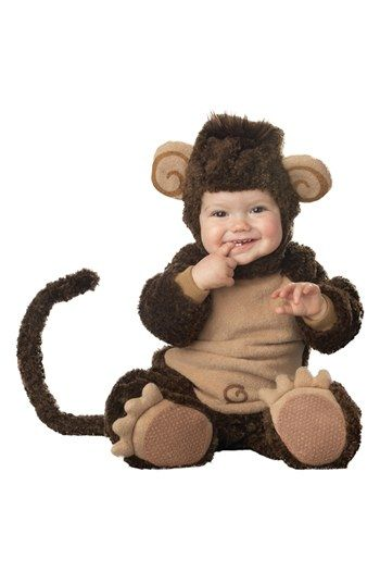 InCharacter Costumes Plush Lil' Monkey (Baby) available at #Nordstrom