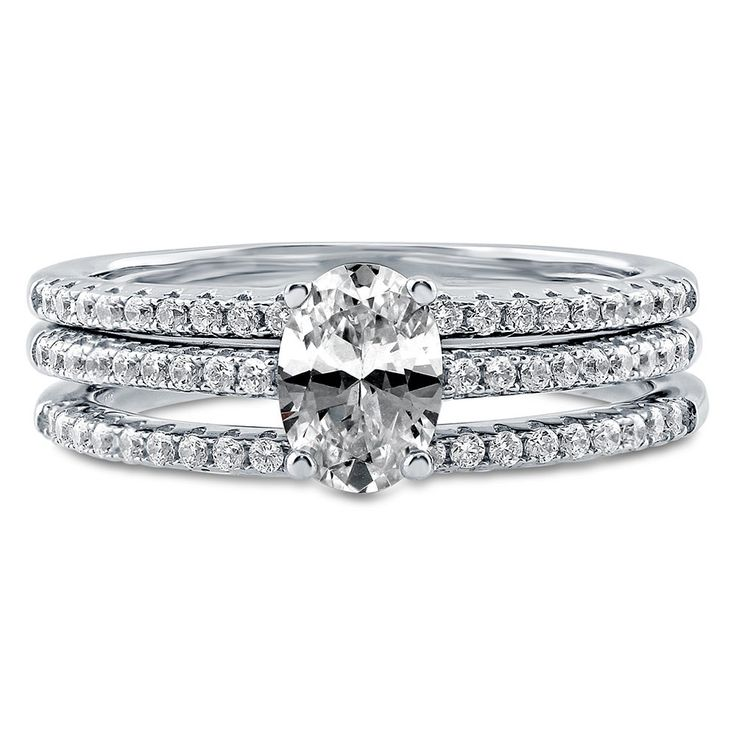 36++ Oval solitaire wedding set info