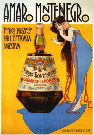 Amaro Montenegro was created by Mister Cobianchi, a young man from Bologna that dedicated his life to the production of liqueurs, creating in 1885 Amaro Montenegro prepared with a selection of 40 aromatic herbs from all over the world