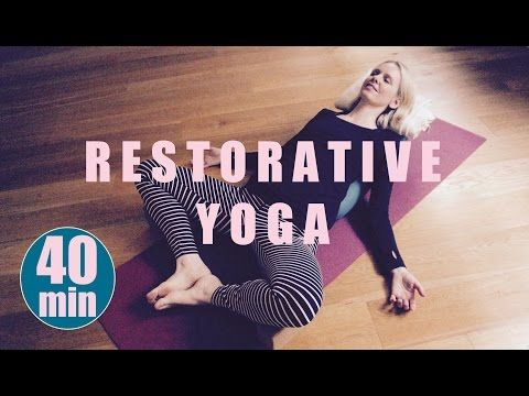 RESTORATIVE YOGA # 3 :: Self Care For Ultimate Relaxation | Anita Goa - YouTube