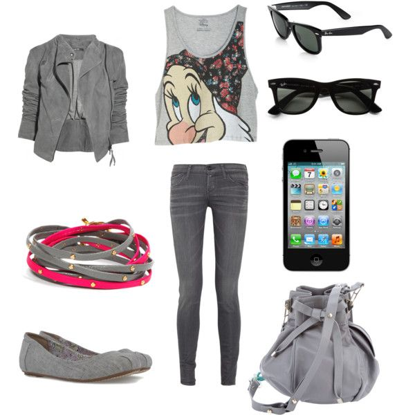 """for a walk.."" by theo-mar on Polyvore"