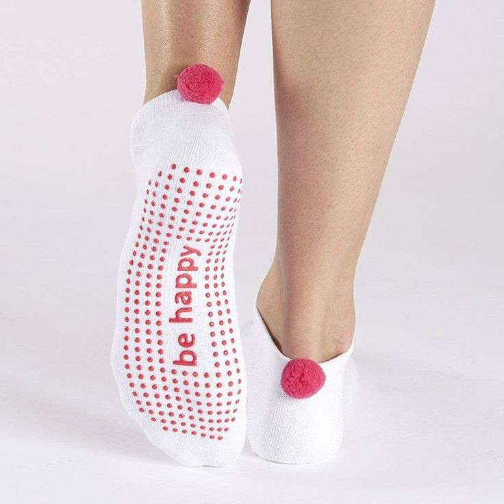 """210 Likes, 3 Comments - SIMPLYWORKOUT (@simplyworkout) on Instagram: """"These pom pom socks by #stickybe deserve a place in our lives. . These grip socks, now on…"""""""
