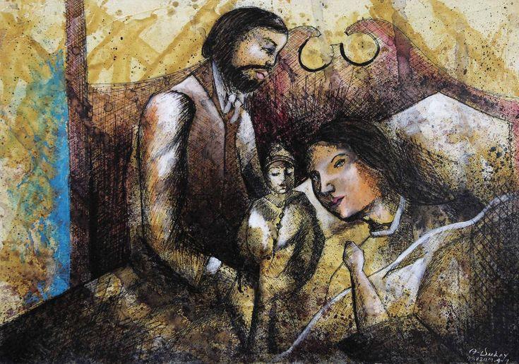 Madame Bovary y su hija - Angelo Dulay