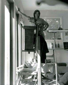 Sally Mann at work