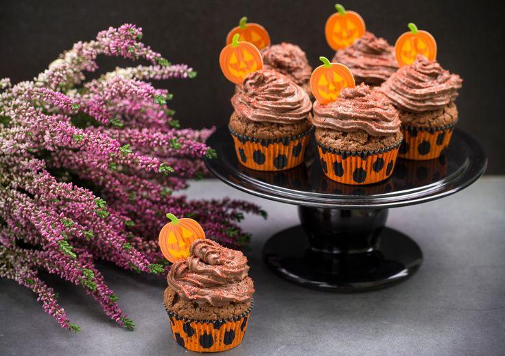 Muffinki czekoladowo-dyniowe #intermarche #dynia #muffinki #kakao