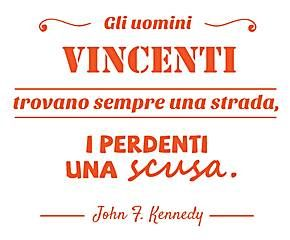Sticker vincenti - 40x60 cm