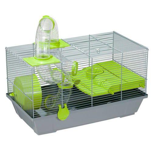 Grande cage avec tunnel spécial pour #hamster russe à 26€95 sur www.TiendAnimal.fr
