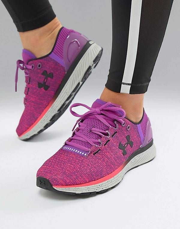 54d604df612a2b Under Armour Charged Bandit Trainers In Purple