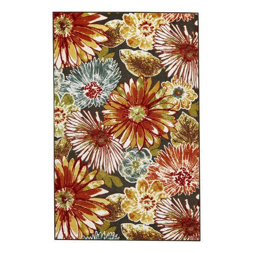 Bungalow Rose™ Kamberk Multicolored Area Rug