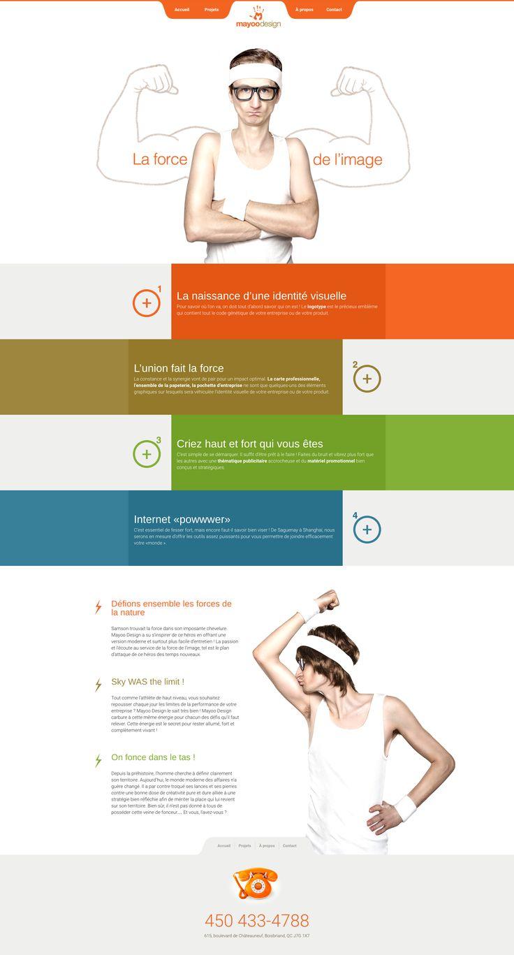 Nos Réalisations: Site web de Mayoo Design, conception de logo, identité visuelle et image de marque #webdesign #identitévisuelle #imagedemarque