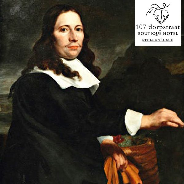 Stellenbosch was named after Simon van der Stel, at that time the Governor of the Cape.   He gave out farms next to the Eerste River and here, in the fertile ground, food and wine were produced for the Castle and ships stopping at the Cape of Good Hope.