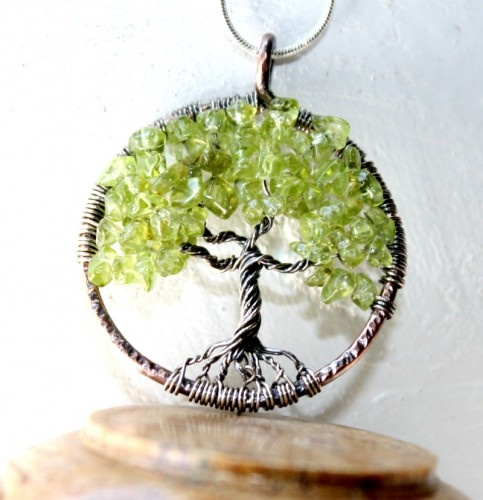 169 best tree of life images on pinterest tree of life wire peridot tree of life necklace august birthstone family treecopper and sterling silver tree of life pendant aloadofball Gallery