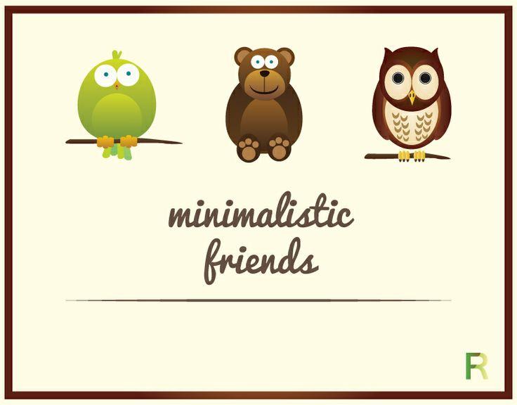 Minimalistic Animal Poster for kids  by Francesco Ricci FR