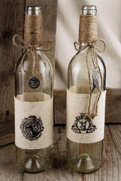 ideas for wine bottle decor