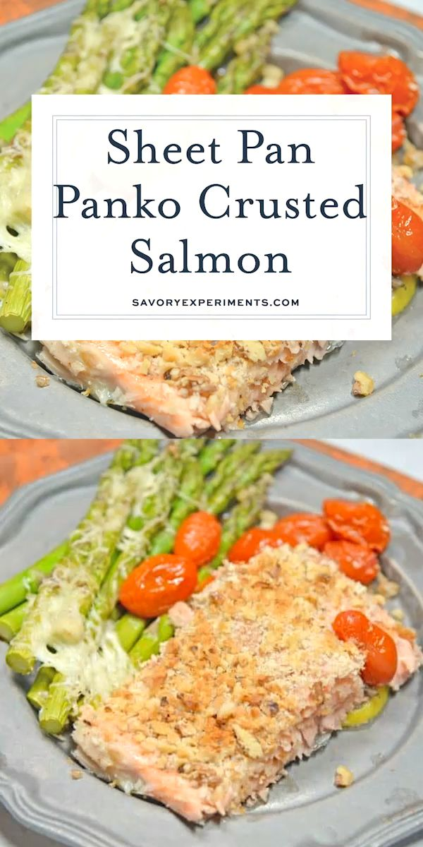 Watch Panko Crusted Salmon Is A Fast Easy And Healthy