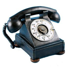 Picture of Vintage Telephone Bank 7.25 x 5-in
