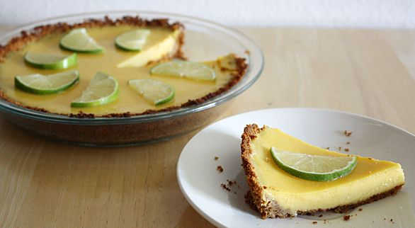 Key Lime Pie (with a Graham Cracker Coconut Crust) | Recipe